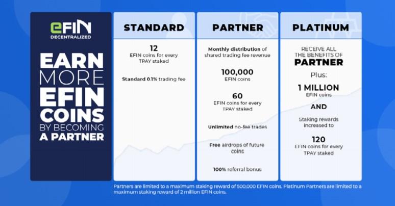 eFIN(EFIN)がたくさん入手できるパートナーシップに加入できる!